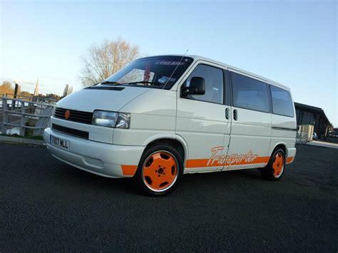 orange volkswagen van white orange themed vans please vw t4 forum vw t5