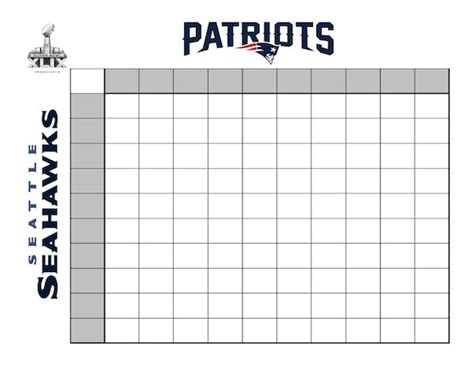 2015 super bowl squares template out of darkness