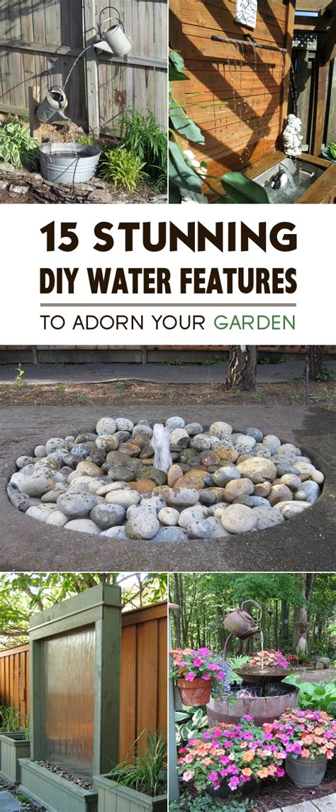 garden rock features 15 stunning diy water features to adorn your garden