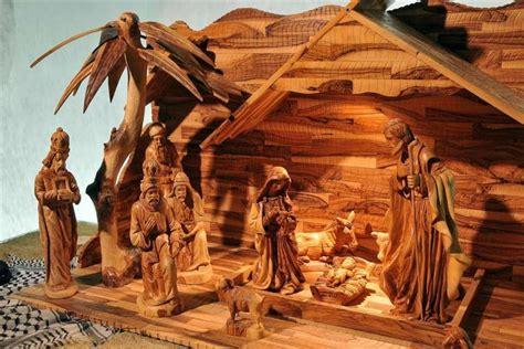 presepe in casa idee come realizzare un presepe in legno tante idee originali