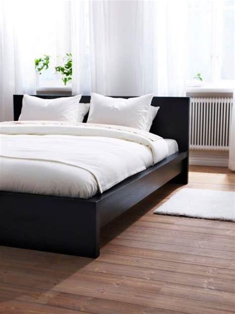 malm bed frame low ikea malm i like the white sheets on black bedframe b e