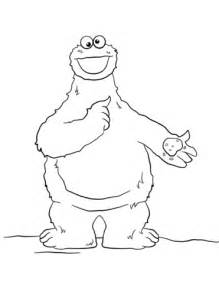 coloring pages elmo cookie monster cookie monster coloring page free printable coloring pages