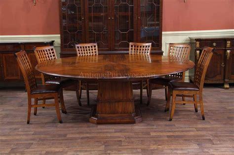 solid walnut dining solid walnut round dining table with self storing leaves