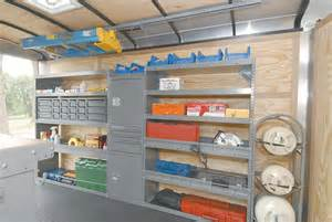 Interior Partitions trailer shelving ideas by adrian steel
