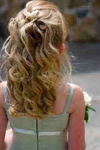 bridal hairstyles for children kids wedding hairstyles for girls