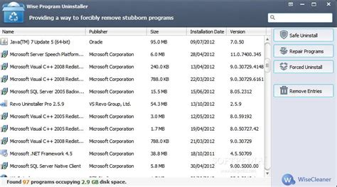 best uninstall programs 10 best free uninstaller software for windows 10 8 7 h2s