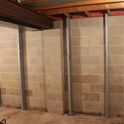 bowed walls in basement home foundation repair contractor all of wi raiserite