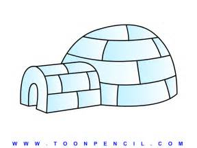 Learn how to draw a igloo for kids step by step kids igloo drawing