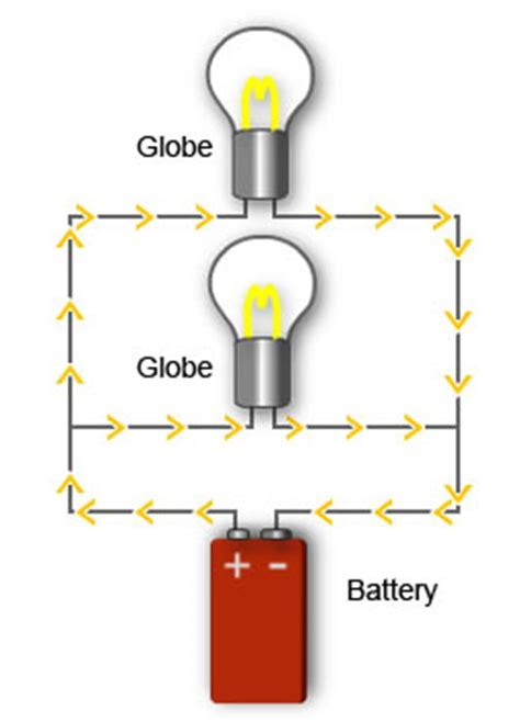 parallel circuit electricity creating sparks with e learning