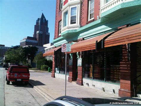 awnings milwaukee jeff sherman s blogs downtown water street brewery s new