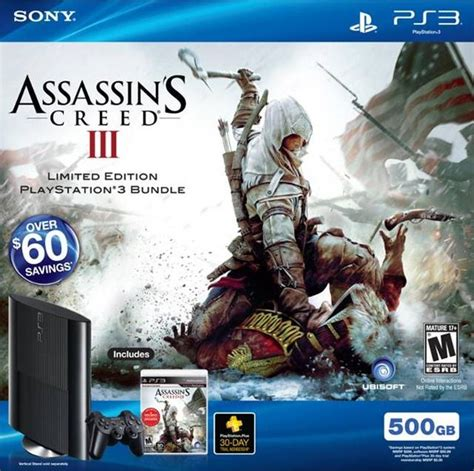 amazoncom assassins creed playstation 3 artist not assassin s creed iii box shot for playstation 3 gamefaqs
