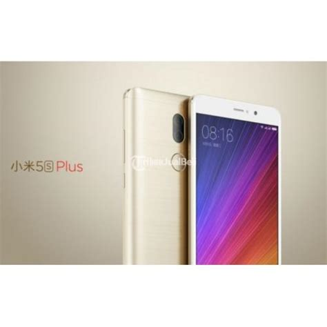 Hp Xiaomi Mi5 Plus hp android new xiaomi mi 5s plus ram 6gb 128 gb garansi distributor harga murah jakarta