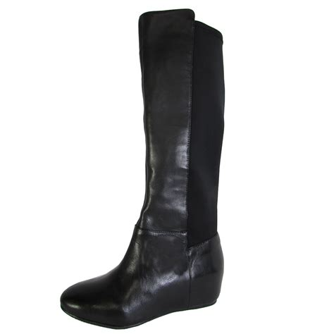 bcbg bcbgeneration womens bg knee high wedge heel