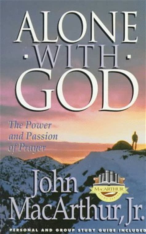 research me god illness books alone with god macarthur study series by f