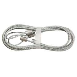 everbilt 8 ft garage door safety cable 5020a31 the home