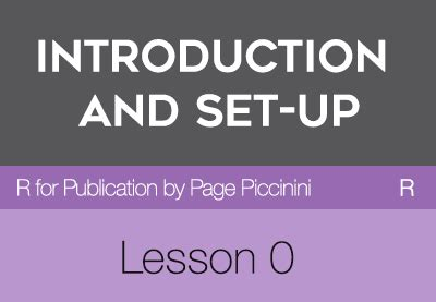 R For Publication By Page Piccinini Lesson 0 | r for publication by page piccinini lesson 0