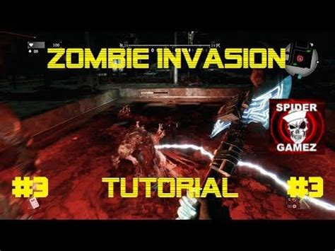 tutorial zombie invasion escape dying light zombie invasion tutorial 3 how to kill