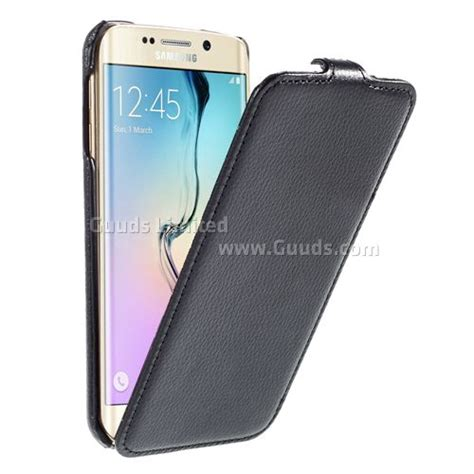 Samsung Galaxy Tab S6e by Litchi Leather Vertical Flip Cover For Samsung Galaxy S6 Edge G925 Black Leather Guuds