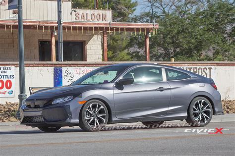honda civic 2016 si 2017 honda civic si coupe sighting 2016 honda