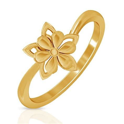 Gold Ring For by Floral Gold Ring Jacknjewel