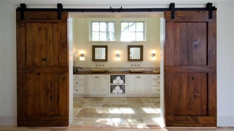 Hanging Barn Door Sliding Barn Door Idea Barn Door Hanging A Barn Door