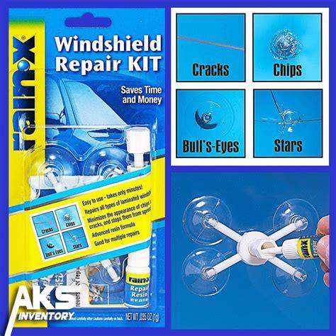 how to repair glass cracks auto windshield repair kit glass resin window car cracks