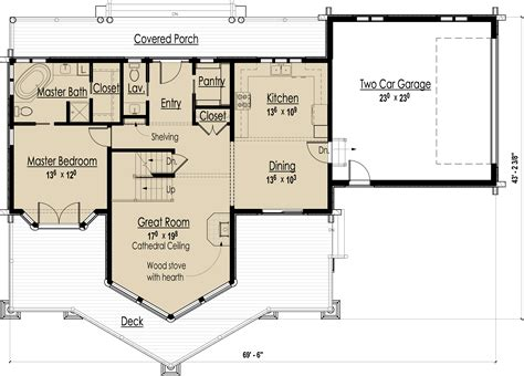 bedroom log cabin floor plans with 4 interalle