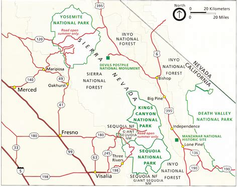 sequoia national park map map sequoia national park california sequoia national park map nps gov