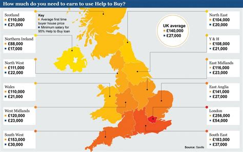 help to buy a house uk help to buy map where it could work telegraph