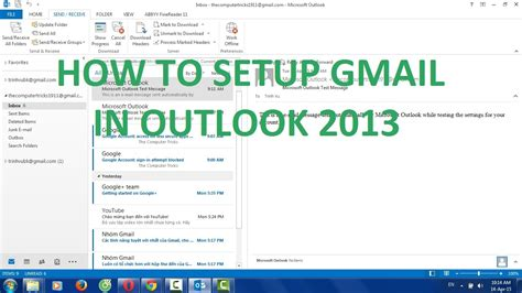 how to setup a template in outlook 2010 how to setup gmail in microsoft office outlook 2013
