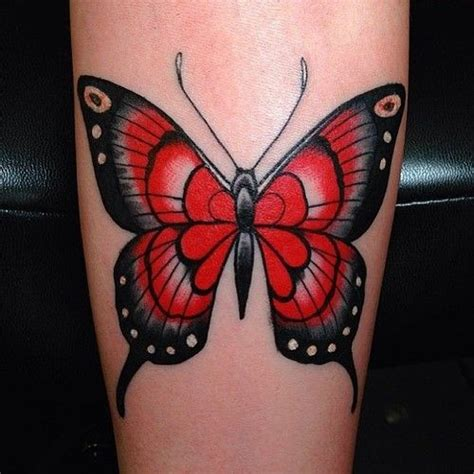 neo trad butterfly tattoo neo traditional butterfly tattoo
