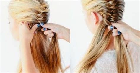H Rfin by Fish Tales Hairstyles 10 Fishtail Braid Ideas For