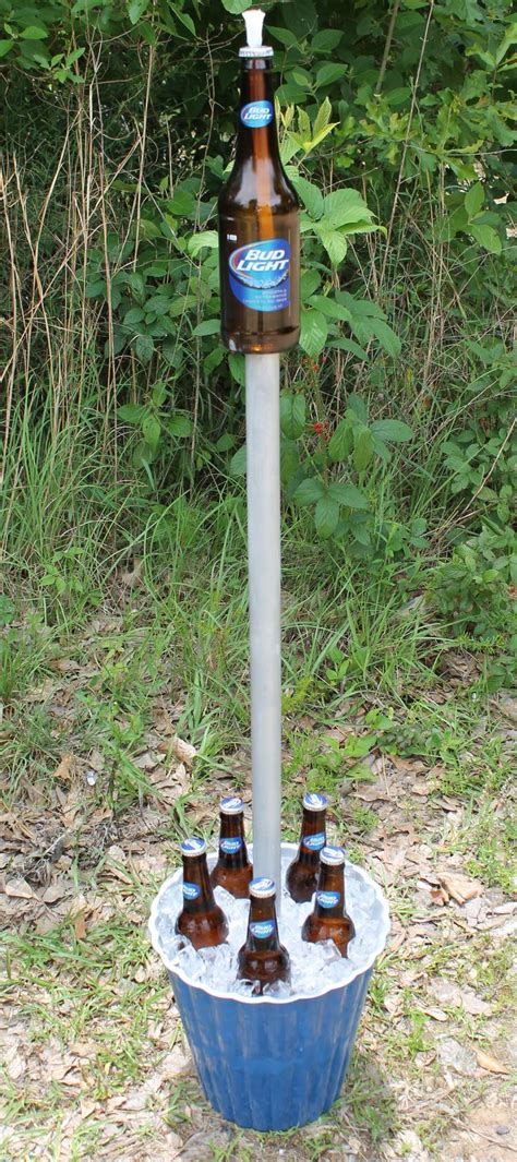 Tiki Torch Planter by Tiki Torch Cooler Combo Can Also Can Fill
