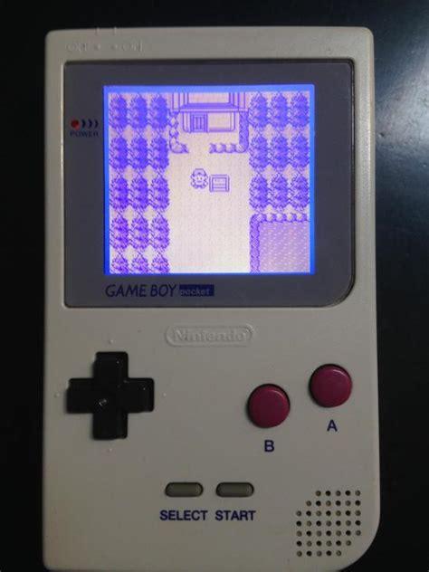 mod your gameboy game boy pocket game boy dmg chip based backlight mod