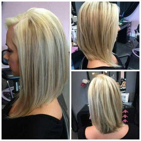 long graduated layers with a side angled or sweeping bang 20 inverted long bob bob hairstyles 2015 short