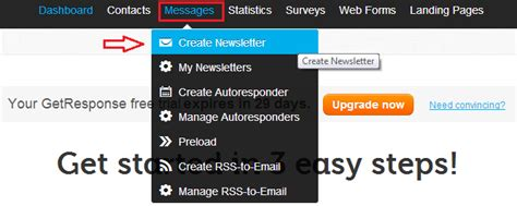 membuat email newsletter panduan lengkap membuat autoresponder menggunakan