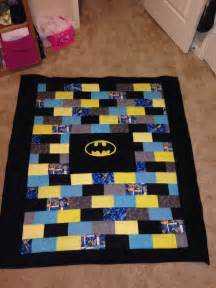 batman quilt silver threads golden needles