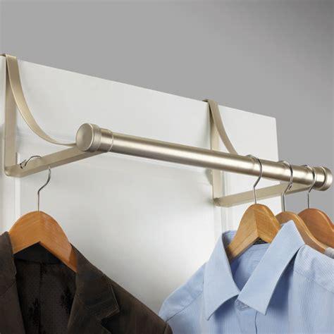 the door closet rod the door metal closet rod nickel in closet rods and