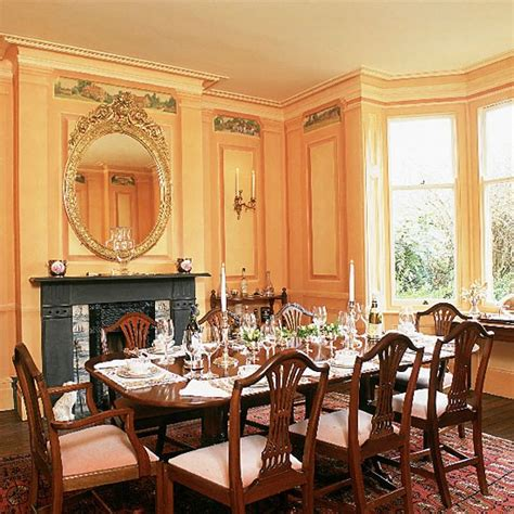 charming  classy victorian dining room design