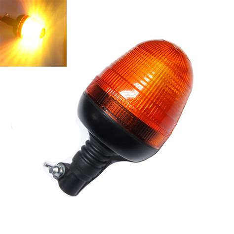 what is a strobe light led light flexible pipe mount profile amber beacon