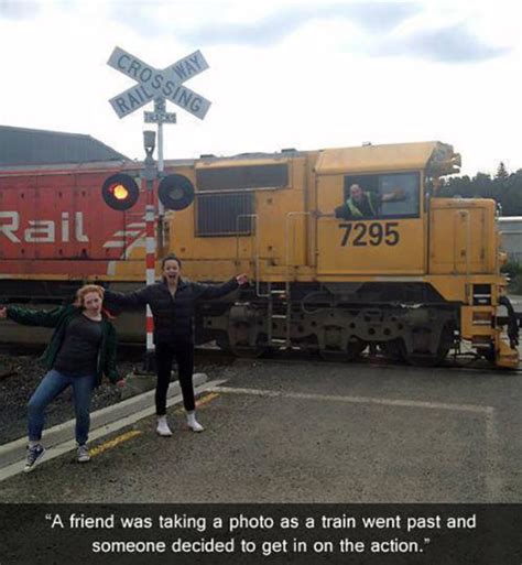 Train Meme - the most funny photobombs ever