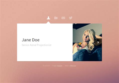 html5 personal website templates free personal website templates free html5 with css3