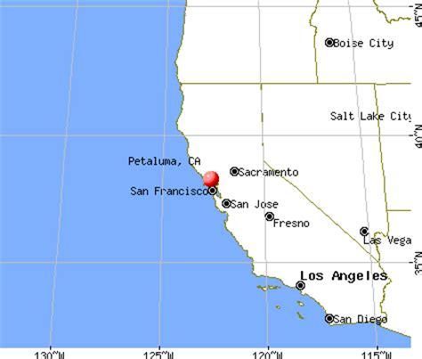 where is petaluma california on the map petaluma ca map my
