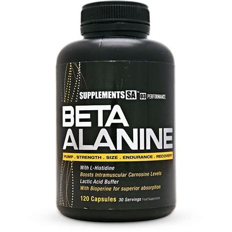 Suplemen Beta Alanine Supplements Sa Beta Alanine