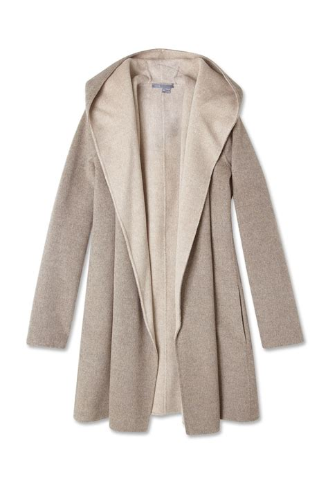 vince drape hooded coat wool drape hooded coat by vince alystyle top coats