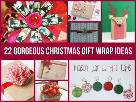 22 gorgeous christmas gift wrap ideas