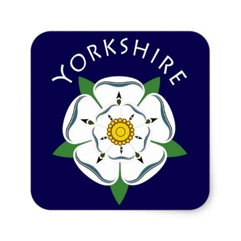 yorkshire white rose stickers zazzle