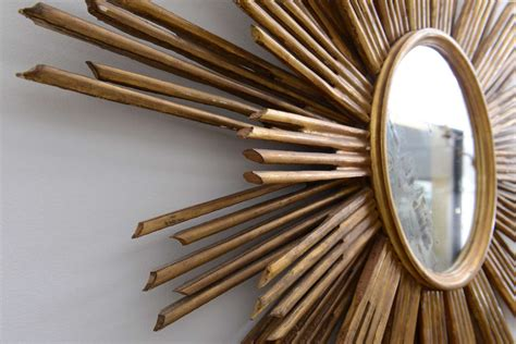 home design studio large sunburst mirror large sunburst mirror at 1stdibs
