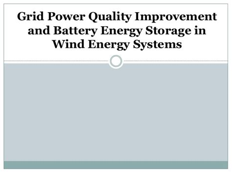 supercapacitors energy storage system for power quality improvement abstract supercapacitors energy storage system for power quality improvement pdf 28 images ltcc