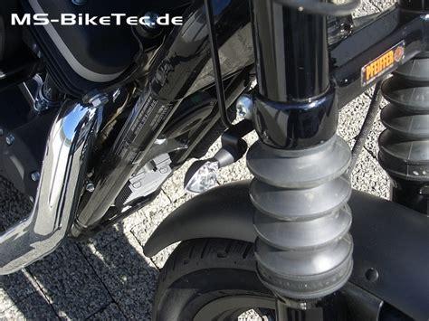 Motorrad Auspuff Pulverbeschichten Kosten by Blinkerhalter Gabel F 252 R Sportster 174 Beleuchtung
